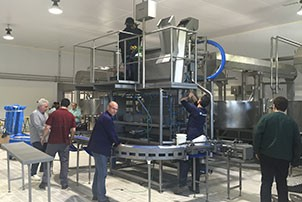 """MULTI-FORMAT MOULDING MACHINE FOR """"TETILLAS"""" CHEESES AND FOR ARZÚA-ULLOA CHEESE"""