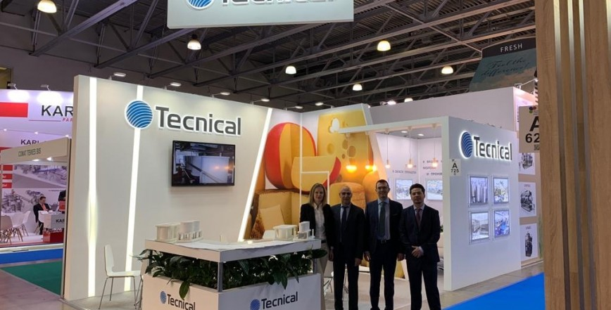 Tecnical partecipa alla fiera Dairy and Meat Industry 2019