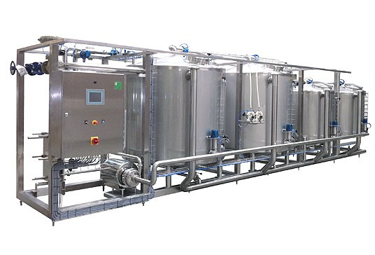 CIP cleaning systems