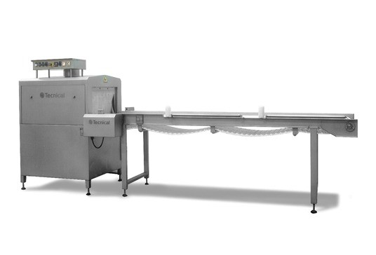 RI-CT continuous immersion shrink-wrapping tunnel #1