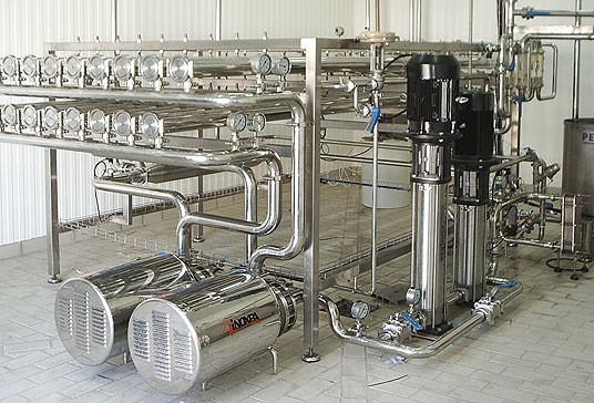 Equipos de filtración por membranas de OI #1