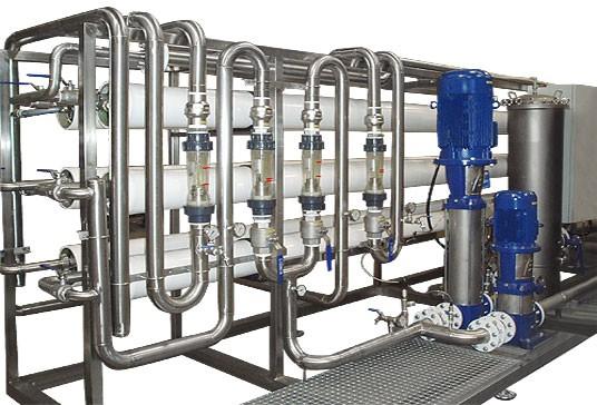 Equipos de filtración por membranas de OI #2