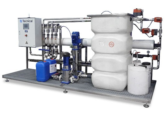 UF membrane filtering equipment #2